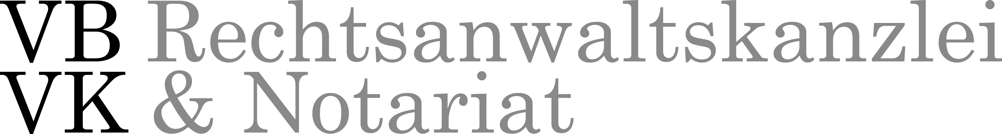 Vehrs – Bracht – Vehrs – Knöll | Rechtsanwaltskanzlei & Notariat